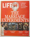 Life Magazine April 28, 1972 The Marriage Experiments