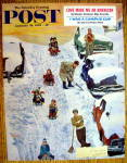 Saturday Evening Post Cover By Mayan-January 28, 1961