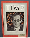 Time Magazine - April 13, 1942 - Sir  Stafford  Cripps