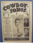 Click here to enlarge image and see more about item 4501: Cowboy Songs Magazine - Aug 1955 - Smith, Clark/Rodgers