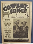 Click here to enlarge image and see more about item 4502: Cowboy Songs Magazine - March 1956 - Johnnie & Jack