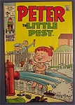 Click here to enlarge image and see more about item 4723: Peter The Little Pest Comics  #1 - November 1969