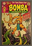 Click here to enlarge image and see more about item 4735: Bomba The Jungle Boy # 2 - November-December 1967