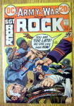 Click here to enlarge image and see more about item 4746: Sgt Rock (Army At War) Comic #254-February 1973
