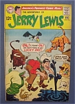 Click here to enlarge image and see more about item 4777: Jerry Lewis Comics  # 110 - January - February 1969