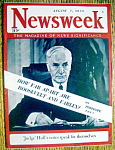 Newsweek Magazine-August 7, 1939-Judge Hull