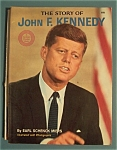 Click here to enlarge image and see more about item 4913: The Story Of John F. Kennedy - 1964 Wonder Books