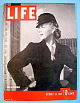 Click to view larger image of Life Magazine - October 23, 1939 - War & Fashions (Image1)