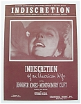 Click to view larger image of 1954 Indiscretion Sheet Music  (Image1)