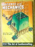 Science And Mechanics Magazine-June 1950-Leathercraft