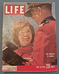 Life Magazine May 26, 1961 The Kennedys In Canada