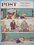 Saturday Evening Post Cover -Dec 19, 1953- Dick Sargent