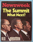 Click here to enlarge image and see more about item 5532: Newsweek Magazine - Sept 25, 1978 - The Summit