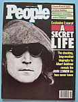 Click here to enlarge image and see more about item 5534: August 15, 1988 - John Lennon