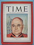 Click here to enlarge image and see more about item 5539: Time Magazine - February 25, 1946 - Cardinal Spellman