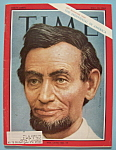 Click here to enlarge image and see more about item 5544: Time Magazine - May 10, 1963 - Abraham Lincoln