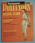 Click here to enlarge image and see more about item 5557: Photography Directory & Buying Guide - 1954