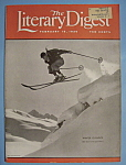 Click here to enlarge image and see more about item 5564: Literary Digest Magazine - February 15, 1936