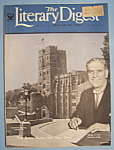 Click here to enlarge image and see more about item 5567: Literary Digest Magazine - August 26, 1933
