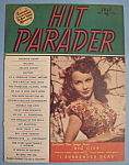 Click here to enlarge image and see more about item 5573: Hit Parader - July 1948 - Janet Blair