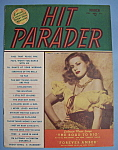 Click here to enlarge image and see more about item 5576: Hit Parader - March 1947 - Mary Jane Harker