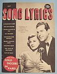 Click here to enlarge image and see more about item 5578: Song Lyrics - July 1938 - F. MacMurray & H. Hilliard