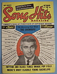 Click here to enlarge image and see more about item 5583: Song Hits - October 1954 - Jeff Chandler