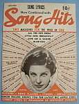 Click here to enlarge image and see more about item 5585: Song Hits - September 1938 - Martha Raye