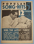 Popular Song Hits-August 25, 1934-Montgomery & Shearer