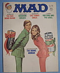 Click here to enlarge image and see more about item 5605: Mad Magazine - January 1977 - The Bionic Woman