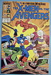 Click here to enlarge image and see more about item 5636: X - Men Comics - April 1987 - X-men vs. The Avengers