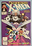 X - Men Comics - March 1989 - Inferno X-Men