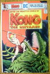Click here to enlarge image and see more about item 5837: Kong The Untamed Comics #4-December 1975/January 1976
