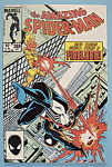 Spider-Man Comics - October 1985 - Burn Spider Burn