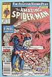 Spider-Man Comics - Late Nov 1989 - Finale In Red