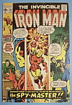 Click here to enlarge image and see more about item 5969: Iron Man Comics - January 1971 - Spy - Master