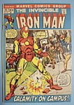 Click here to enlarge image and see more about item 5972: Iron Man Comics - March 1972 - Night Phantom