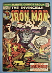 Click here to enlarge image and see more about item 5974: Iron Man Comics - March 1973 - Fangor