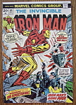 Click here to enlarge image and see more about item 5976: Iron Man Comics - December 1974 - Dr. Spectrum