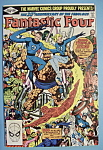Click here to enlarge image and see more about item 5991: Fantastic Four Comics -Nov 1981- Terror In A Tiny Town
