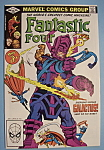 Click here to enlarge image and see more about item 5993: Fantastic Four Comics - June 1982 - Galactus