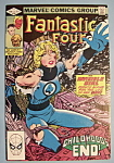 Click here to enlarge image and see more about item 5995: Fantastic Four Comics - August 1982 - Invisible Girl