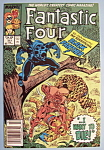 Click here to enlarge image and see more about item 6008: Fantastic Four Comics - Feb 1988 - Black Panther