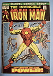 Click here to enlarge image and see more about item 6080: Iron Man Comics - June 1972 - Why Must There Be An..