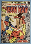 Click here to enlarge image and see more about item 6088: Iron Man Comics - Oct 1973 - Dr. Spectrum