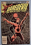 Daredevil Comics - November 1982 - The Widow's Bite