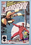 Daredevil Comics -January 1987- It Comes With The Claws