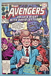 Click here to enlarge image and see more about item 6150: The Avengers Comics - January 1984 - David Letterman