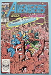 Click here to enlarge image and see more about item 6156: The Avengers Comics -July 1989- Attack Of The Lava Men