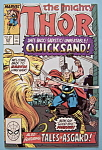 Click here to enlarge image and see more about item 6190: Mighty Thor Comics - April 1989 - Quicksand
